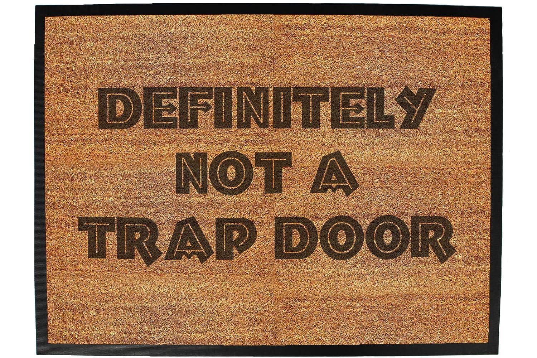 your name union jack bar Funny Doormat Novelty Door Mat Birthday Home Office