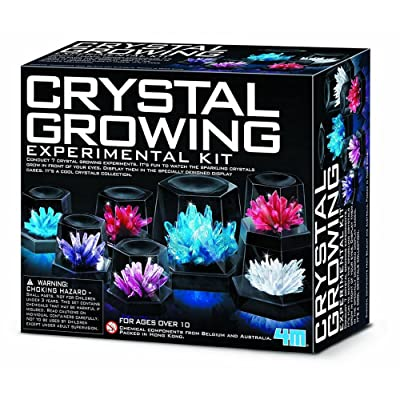 Johnco Productions Great Gizmos 4M Crystal Growing Experiment Kit: Toys & Games