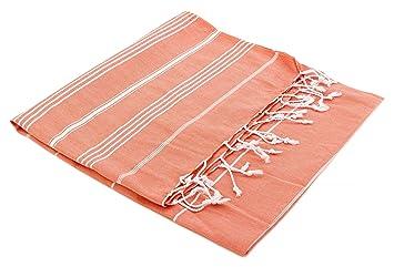Turkish Emporium toalla turca de baño, a rayas, 100% algodó