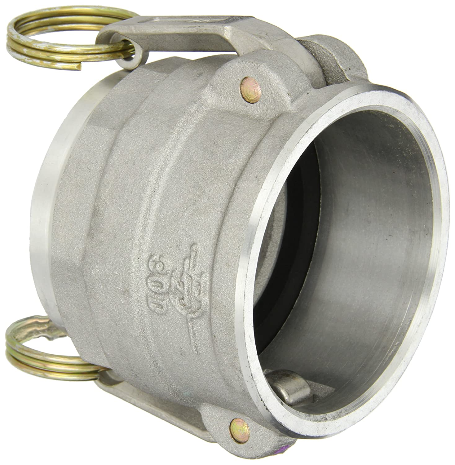 PT Coupling But Weld Schedule 40 Pipe Series 30DWB Aluminum Cam and Groove Hose Fitting 3 Coupler x Butt Weld DWB Coupler