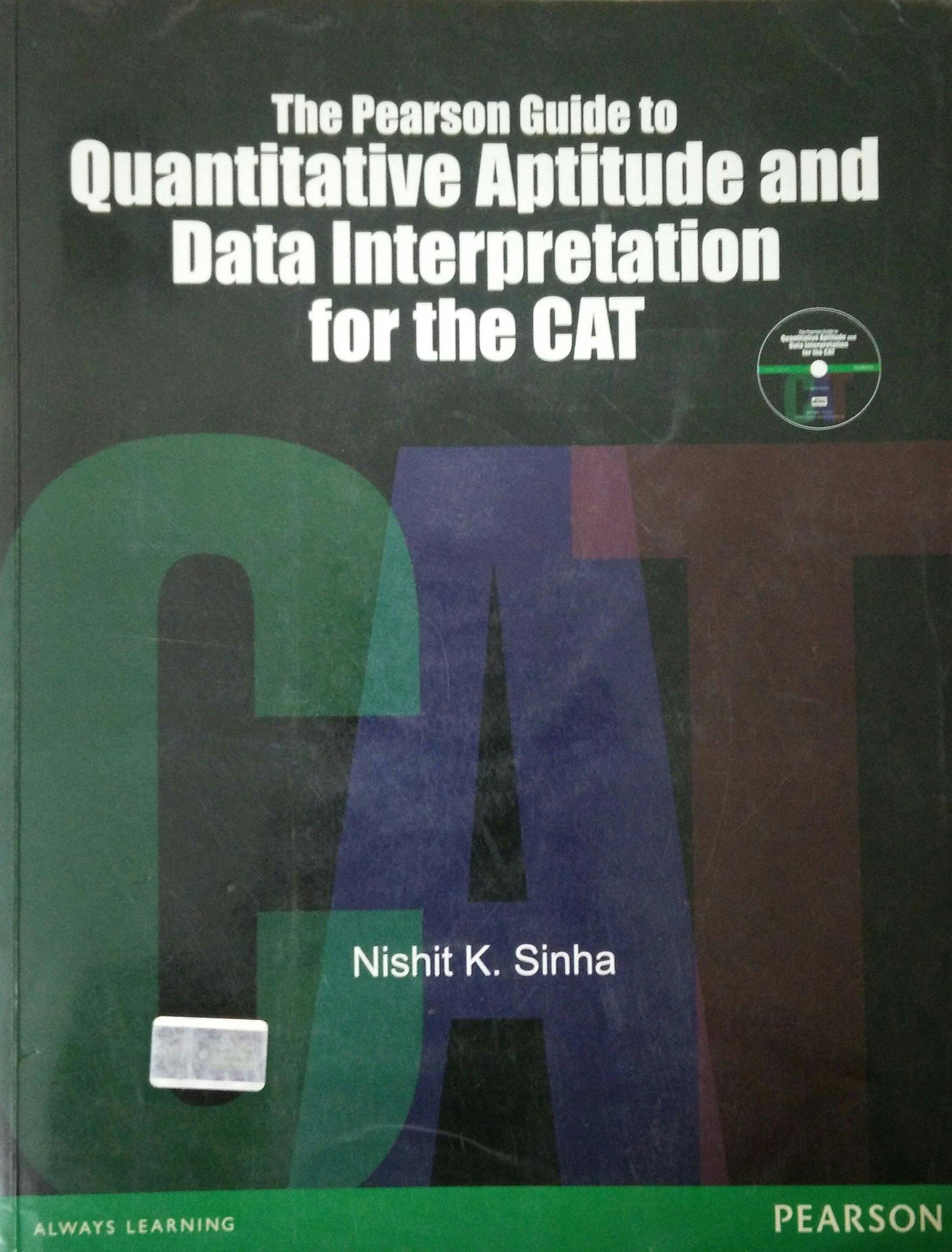 Buy The Pearson Guide to Quantitative Aptitude and Data