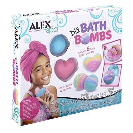 ALEX Spa DIY Bath Bombs Kit
