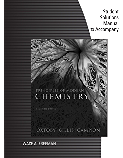 Principles of modern chemistry 007 david w oxtoby h pat gillis student solutions manual for oxtobygillis principles of modern chemistry 7th fandeluxe