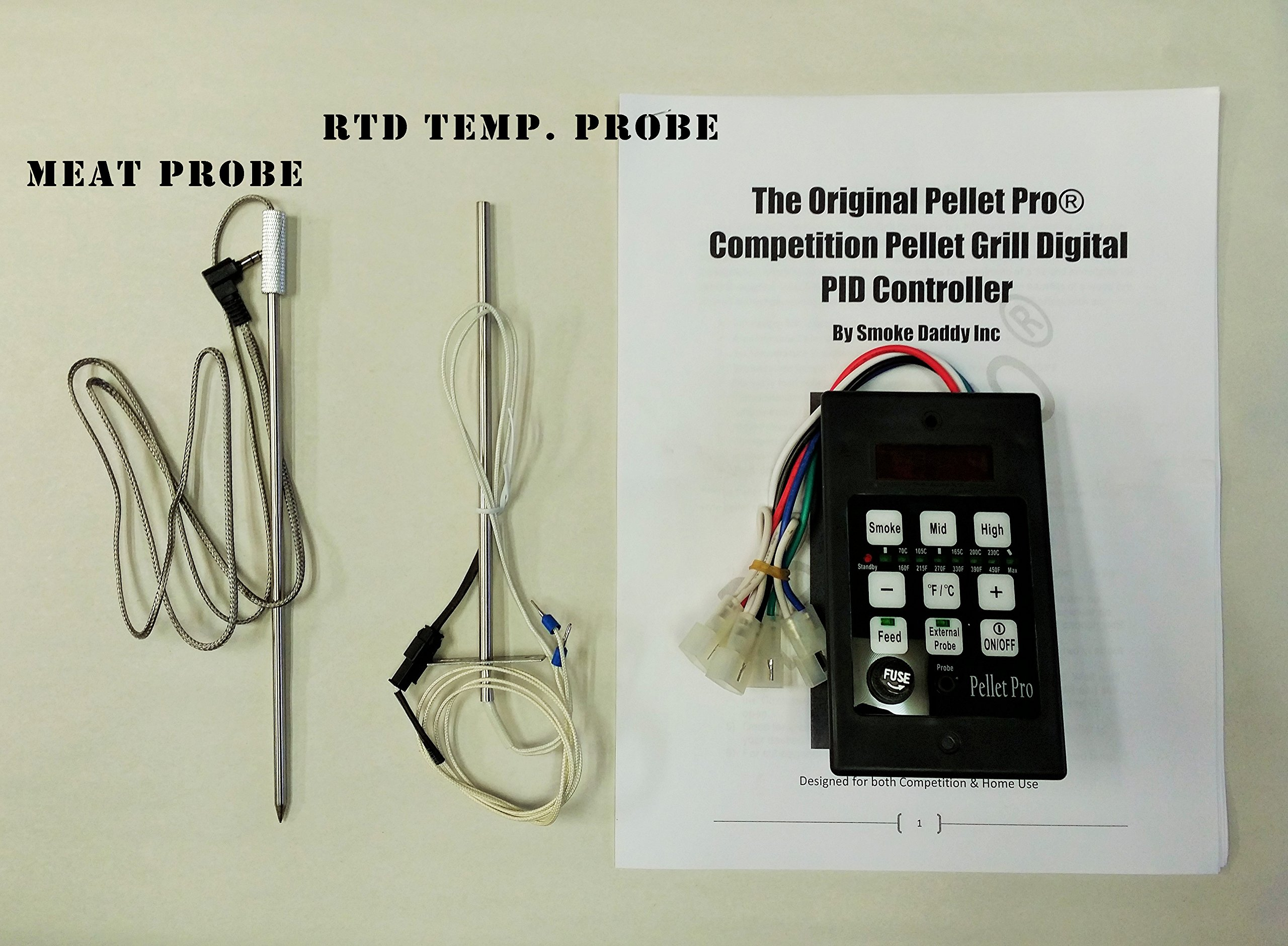 Pellet Pro PID Pellet Grill Controller for Traeger,Pit Boss,Camp Chef, w/Adapter by Pellet Pro (Image #2)