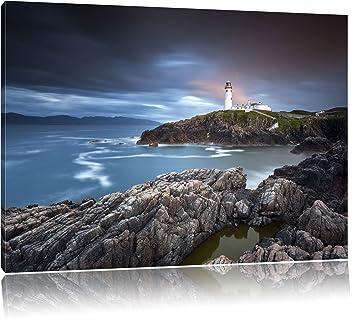 Klippen am Meer Leinwandbild Wanddeko Kunstdruck