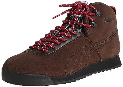 1da0ff873e8 Puma Roma Hiker Boots Demitasse Brown   Black   Ri  Amazon.co.uk ...