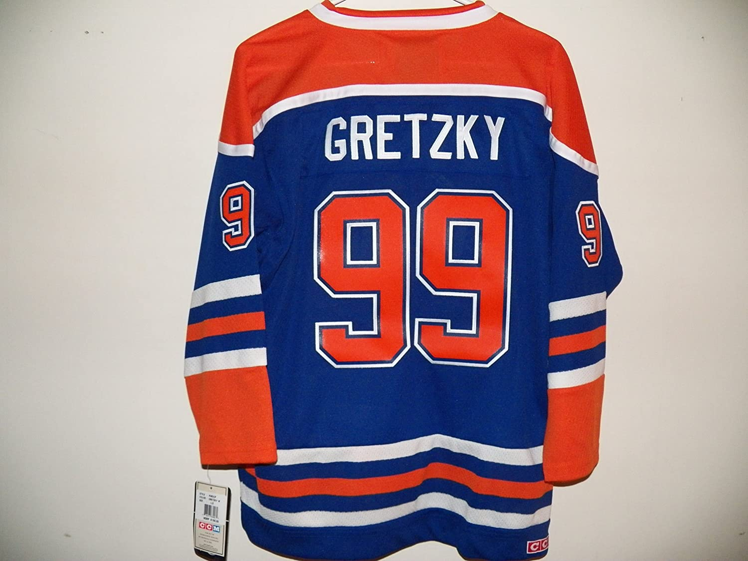 finest selection 003ed 831e2 CCM Throwback Wayne Gretsky Jersey, Edmonton Oilers #99 Heroes of Hockey,  Youth