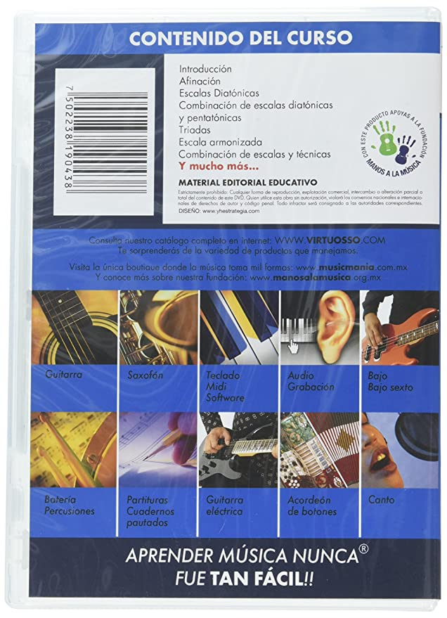 virtuosso Electric Guitar Method Vol. 3 (curso de guitarra eléctrica Vol. 3) español sólo: Amazon.es: Instrumentos musicales