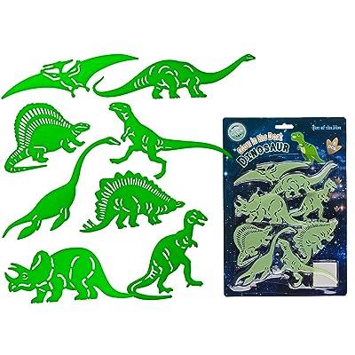 Glow In The Dark dinosaurios pared pegatinas: Bebé