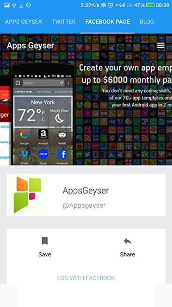 Amazon com: Apps Geyser: Appstore for Android