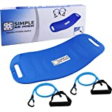 Simple Way Fitness Twist Fit Board – Tone and Strengthen Abs, Legs, Core, Arms Simply Fit Work Out Exercise Equipment All In One To Improve Balance Stability And Weight Loss As Seen On TV