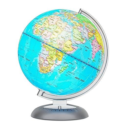 world globe map amazon com
