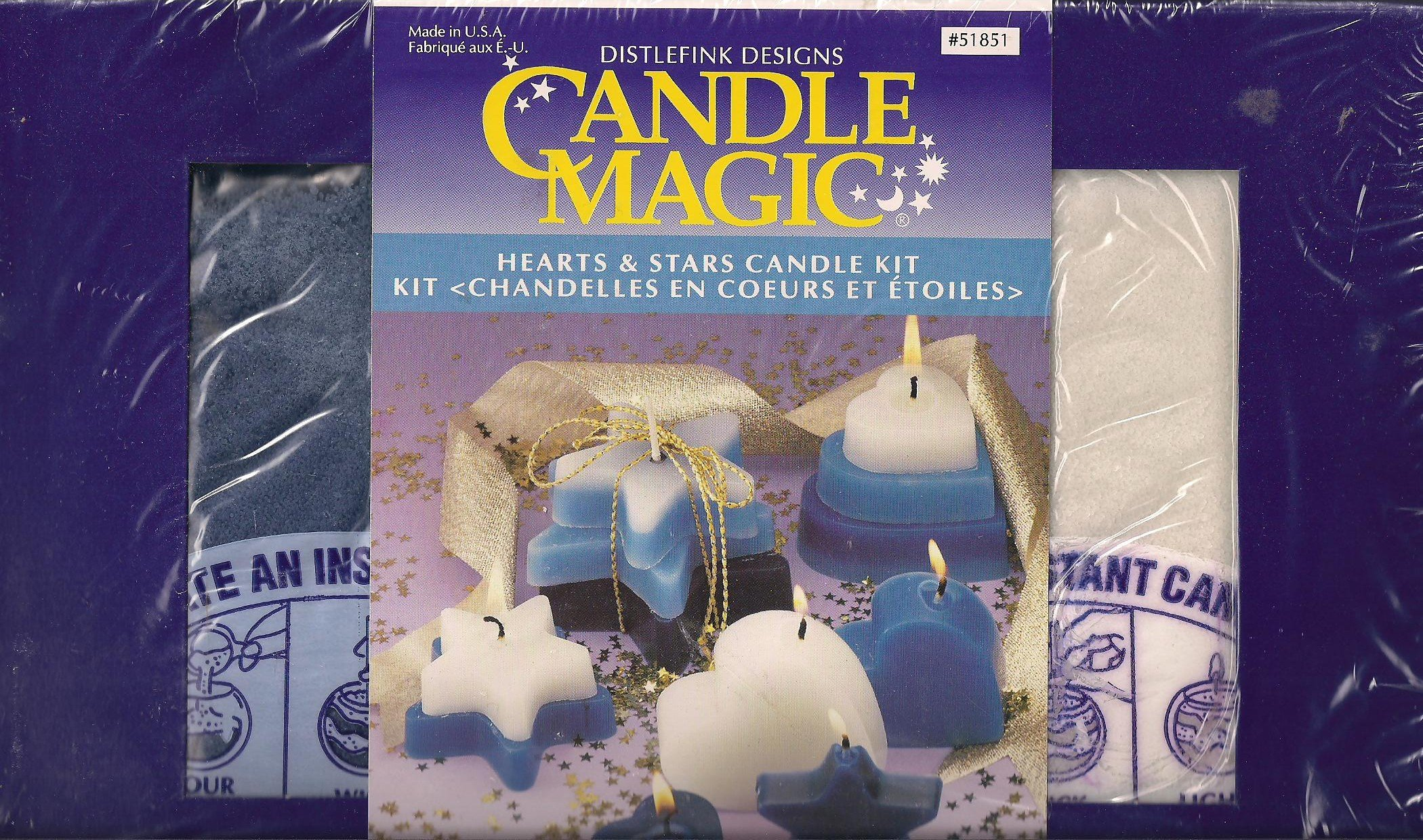 Candle Magic Hearts & Stars Candle Kit