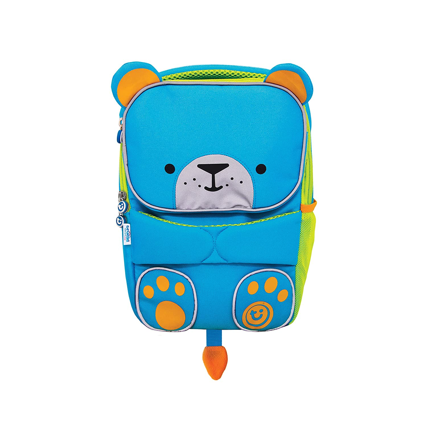45921fe5ecf1 Trunki Toddler s Backpack – Hi-Viz Little Children s Pre School Rucksack - ToddlePak  Bert (Blue)