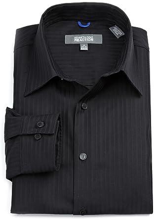 Mens black dress shirts cheap
