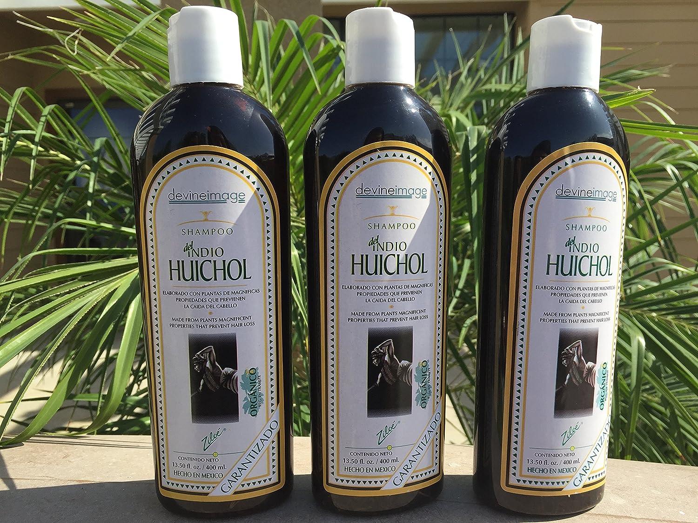 ORGANIC SHAMPOO INDIO HUICHOL PREVENTS HAIR LOSS 13.50 OZ ...