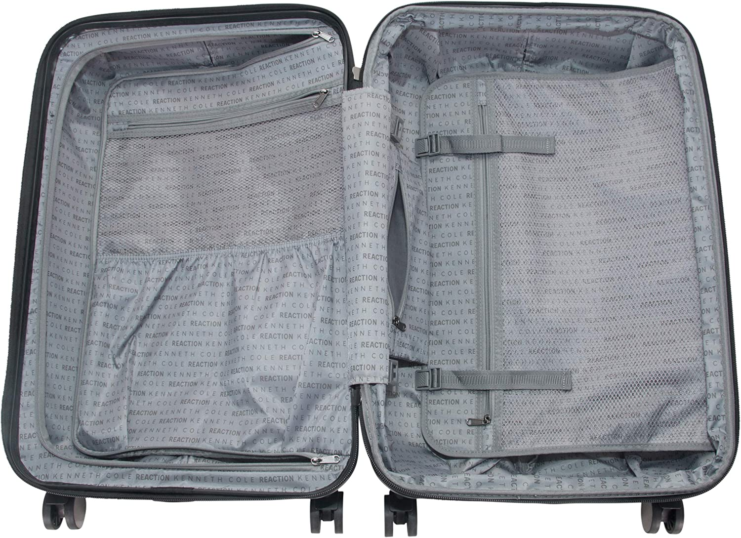 Teal Kenneth Cole Reaction Continuum 20 Hardside 8-Wheel Expandable Upright Carry-on Spinner Luggage