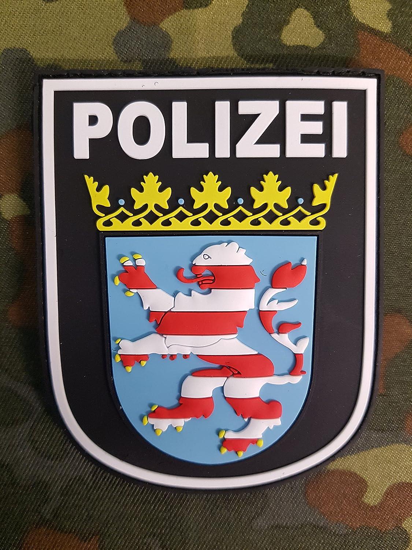 ATG /Ärmelabzeichen Polizei Baden-W/ürttemberg 3 D Rubber Patch BlackOps
