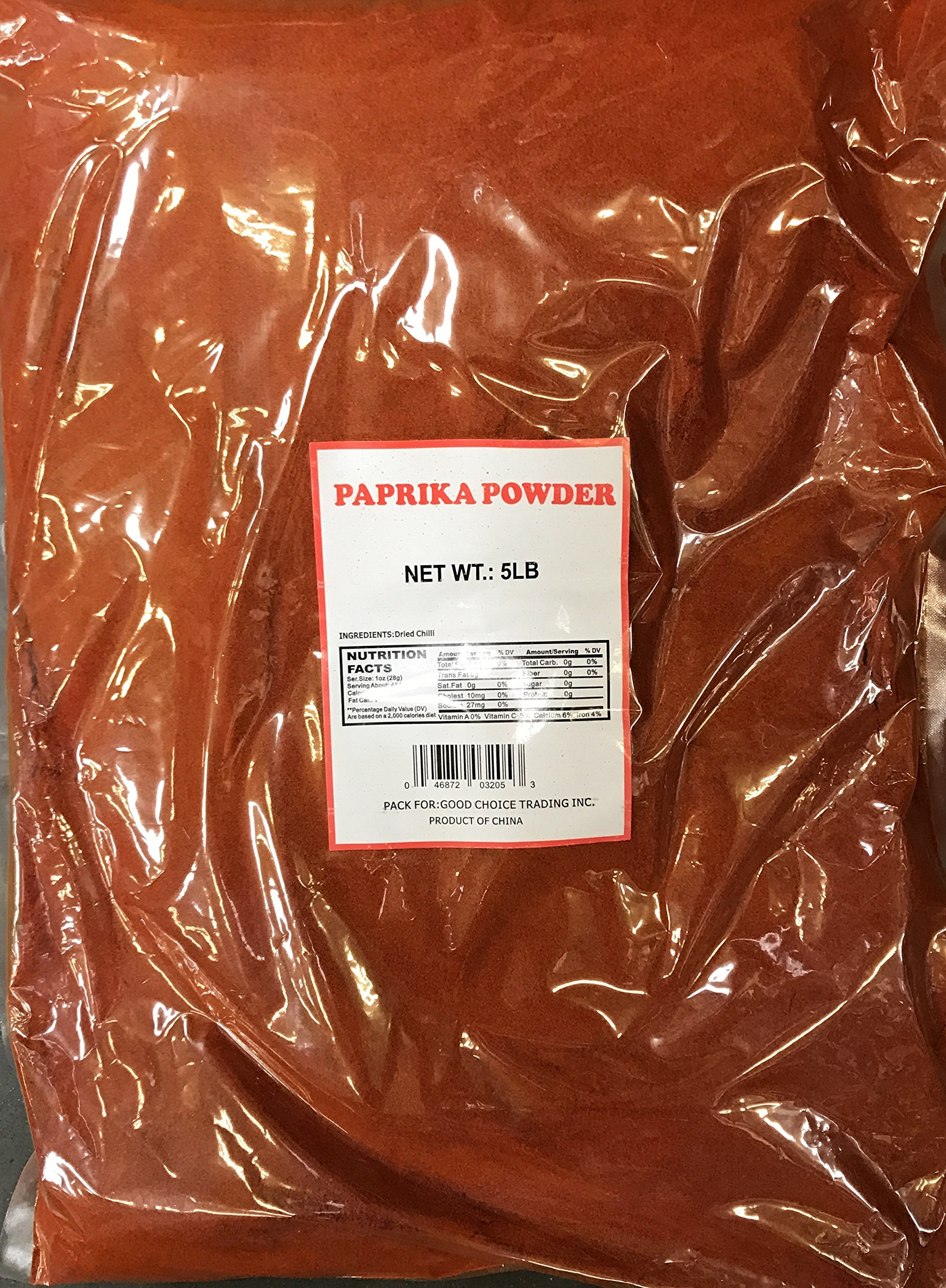 5 pounds bulk gourmet 5A paprika The brand loved by chefs!