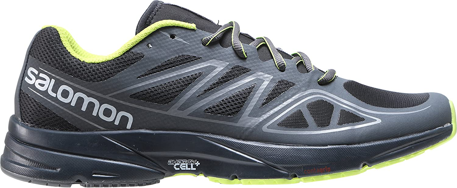 Salomon L37937800 - Zapatillas de Trail Running para Hombre, Color Azul Oscuro/Azul Brillante/Verde Oscuro, 41 EU, Color Negro, Talla 43 EU: Amazon.es: Zapatos y complementos