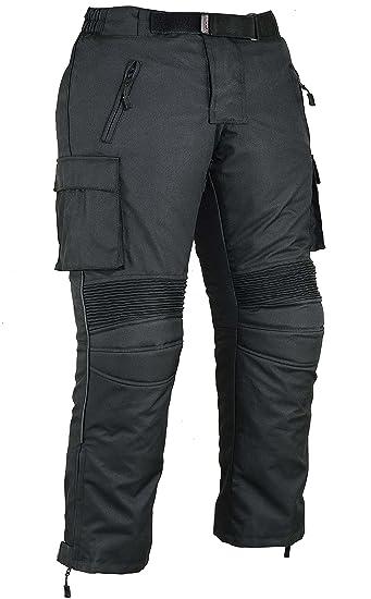 Pantalones de protección para Hombre de Moto Impermeable, W34 L30