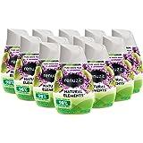 Renuzit Natural Elements Gel Air Freshener, Pure White Pear & Lavender, 7 Ounces, 12 Count