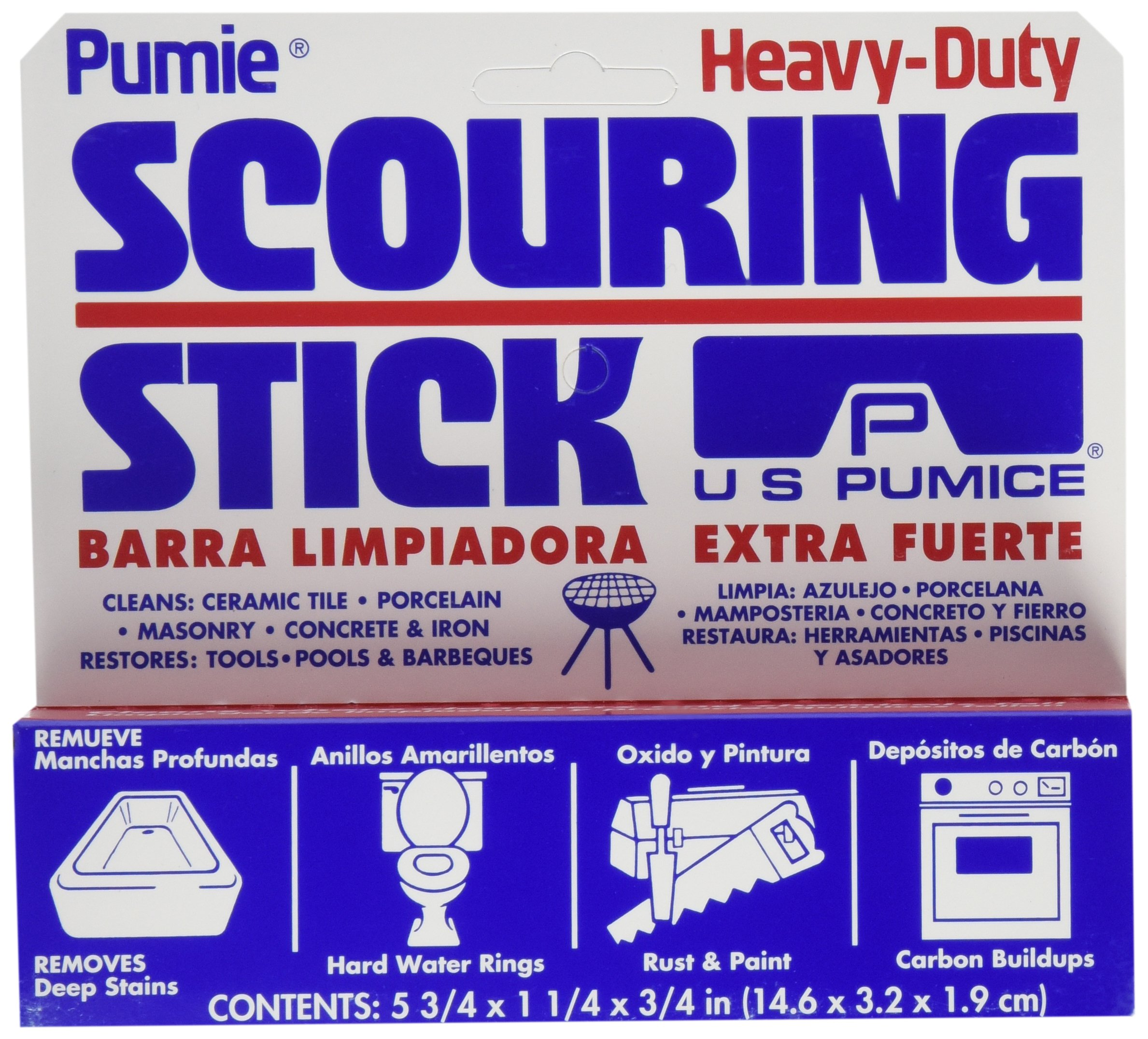 Pumie Heavy Duty Scouring Stick (hdw-12) by United Receptacle