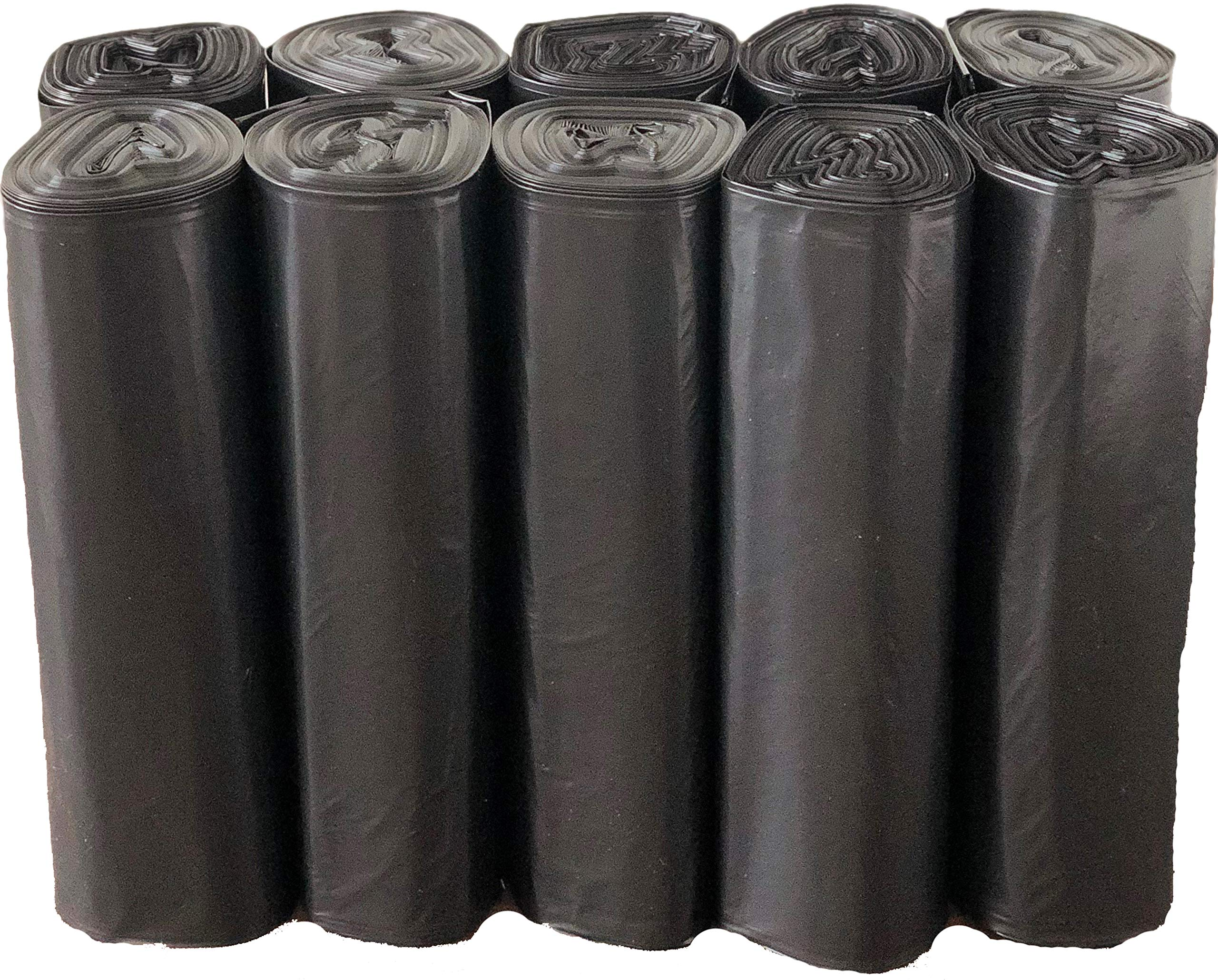 Reli. Recyclable Eco-Friendly Trash Bags, 33 Gallon (150 Count) - Made from Recycled Content (SCS Certified) - Go Green Canliners - Environment-Friendly Garbage Bags (30 Gallon - 35 Gallon) (Black) by Reli. (Image #3)