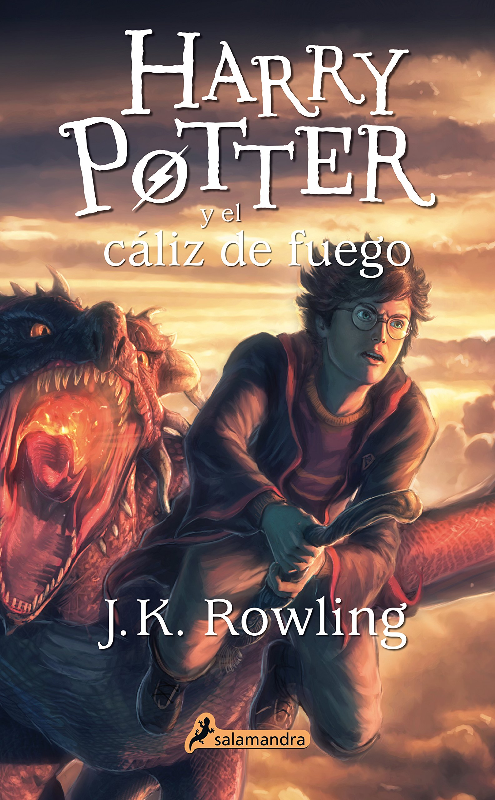 Amazon.com: Harry Potter y el caliz de fuego (Harry 04) (Spanish ...