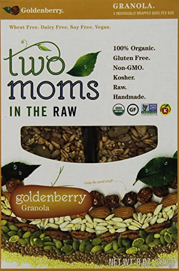 Two Moms in the Raw Barras de granola sin gluten.: Amazon ...