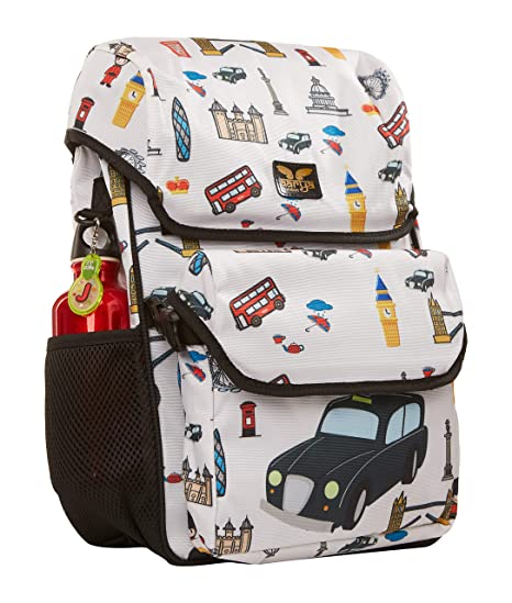ff9e2b991135 Amazon.com  London Black Cab Backpack with Lunch Bag for kids  Aarya London