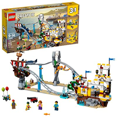 LEGO Creator 3in1 Pirate Roller Coaster 31084 Building Kit (923 Pieces): Toys & Games