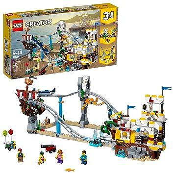 LEGO Creator Piratas de Montaña Rusa 31084 (923 Piece): Amazon.es: Juguetes y juegos