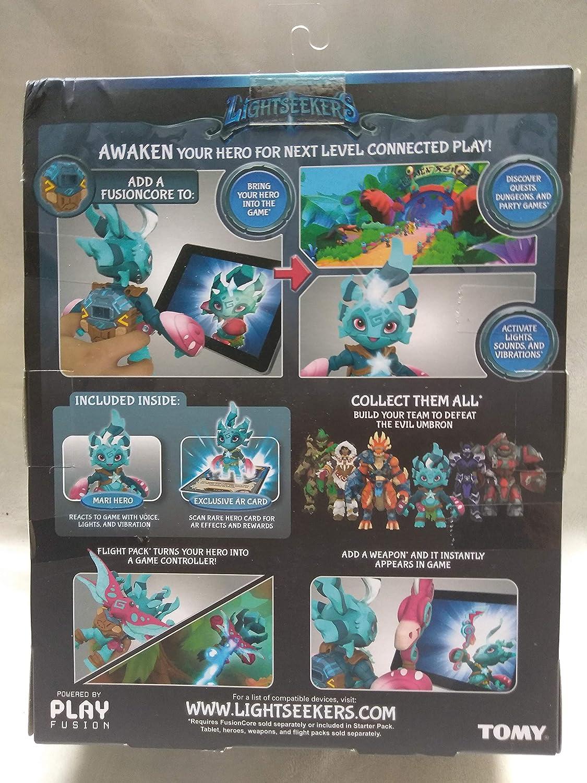 LightSeekers Awakening MARI HERO PACK Smart Action Figure Play Set AR Card