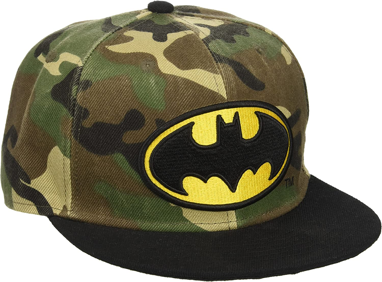 for-collectors-only DC Comics Batman - Gorra, diseño de camuflaje ...