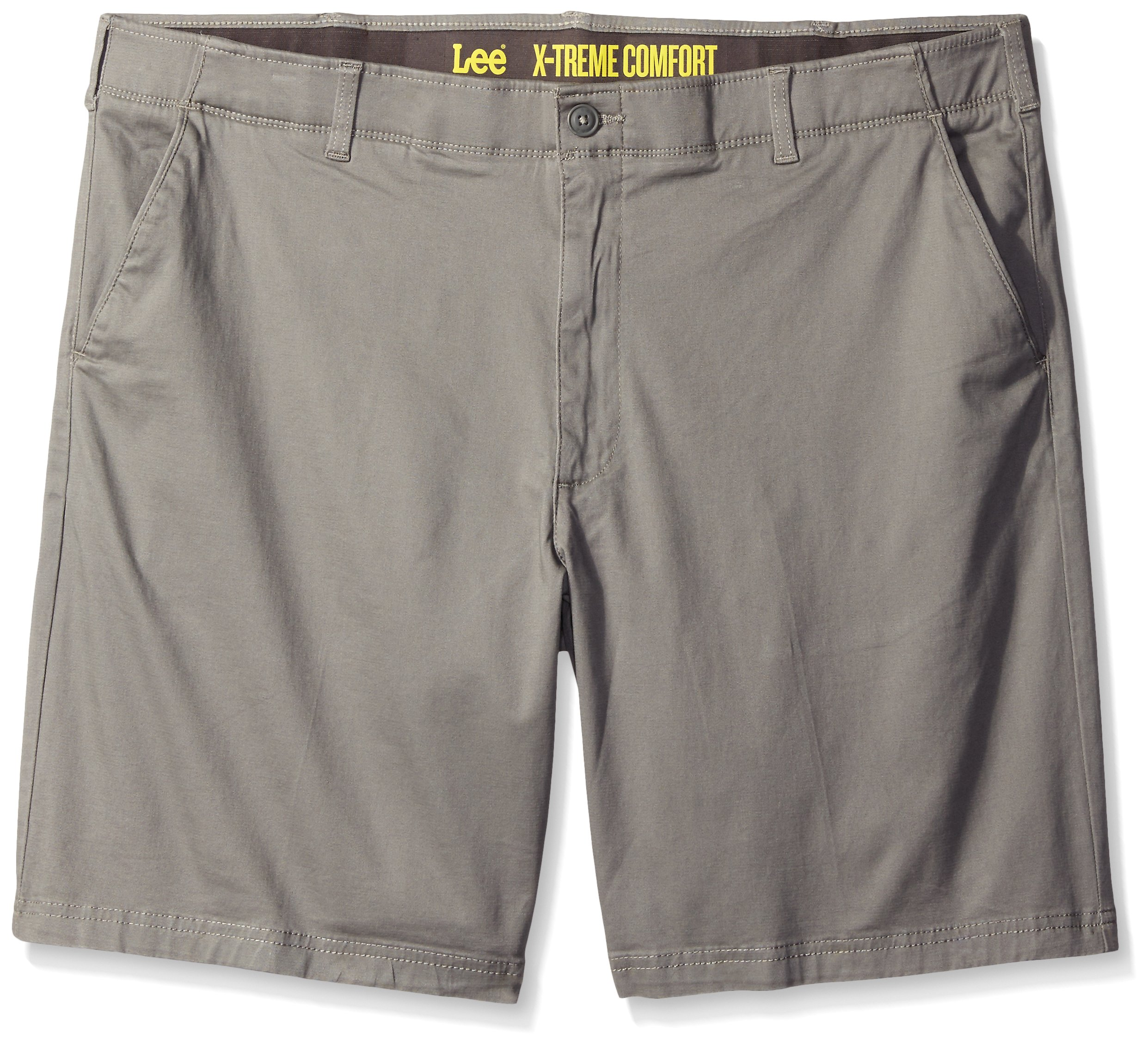 LEE Men's Big-Tall Performance Series Extreme Comfort Short, Iron, 46
