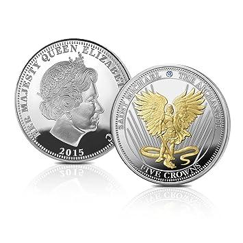 Die Saint Michael Der Erzengel Fünf Münze Von The Bradford
