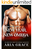 New Year, New Omega: M/M Non Shifter MPreg Romance (Omega For Hire Book 5)