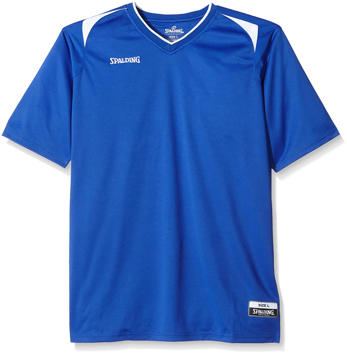 Spalding Bekleidung Teamsport Attack Shooting Shirt - Camiseta de running para hombre 30021160