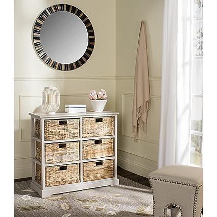 Amazon.com: Safavieh American Homes Collection Keenan Vintage Grey 6 ...
