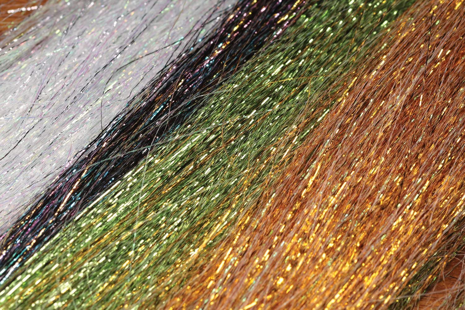 """Fly Tying Hedron 1//100/"""" Micro Pearl Flashabou"""