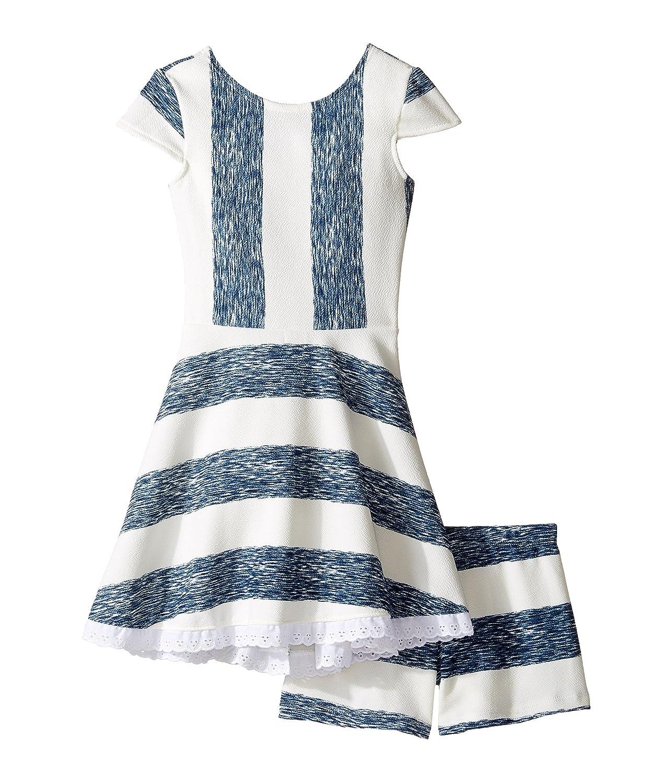 [ファイブローブス トューフッシュ] fiveloaves twofish レディース Lilo Playset Dress (Toddler/Little Kids/Big Kids) キッズセット [並行輸入品] 2T Indigo B06XG3MM9R