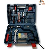 ToolsCentre KPT 1 Impact Drill Machine Kit with Various Accesories, 3mm