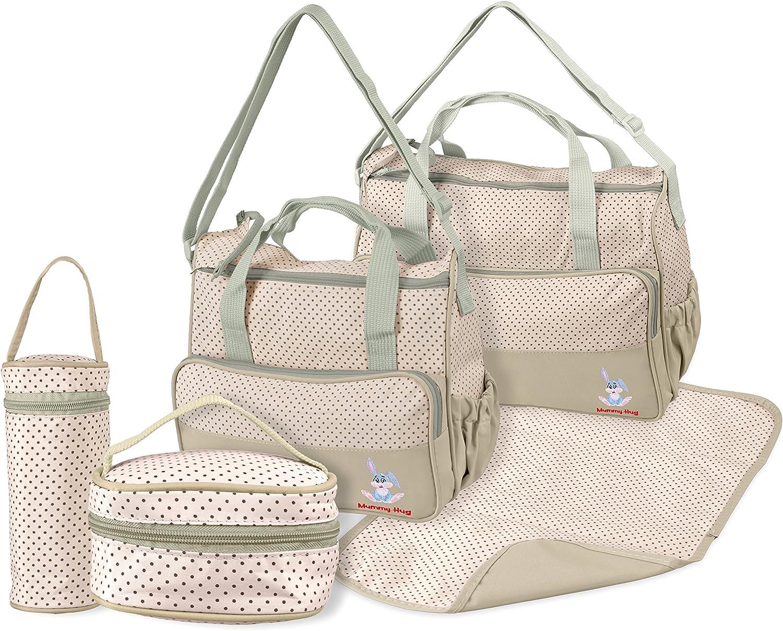 Baby Diaper Caddy Organiser Nappy Mummy Changing Bag Bottle Storage Handbag UK