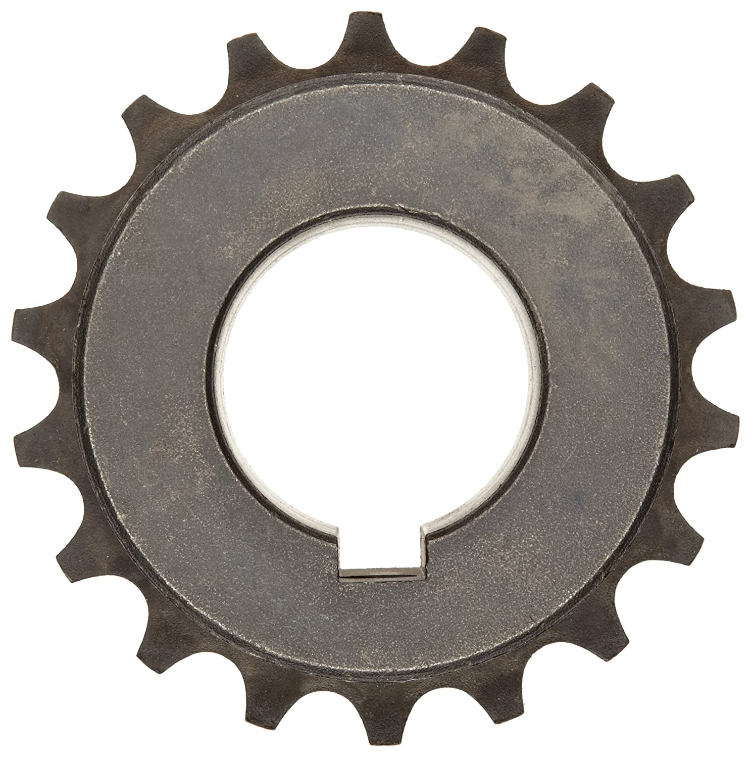 1//4 x 1//8 Keyway Sintered Steel 3600 rpm Max Rotational Speed 4 3//16 OD 1 1//4 Bore Martin 5018 Roller Chain Coupling 18 Teeth Inch 1 11//16 Length
