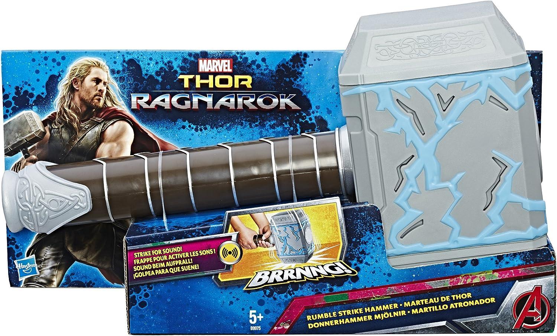 Marvel Avengers- Avengers Martillo atronador de Thor, Multicolor, 34 x 18 cm (Hasbro B9975EU4): Amazon.es: Juguetes y juegos