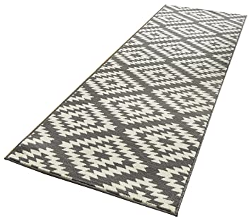 Läufer 80x300 hanse home designer velours läufer nordic polypropylen grau 80 x