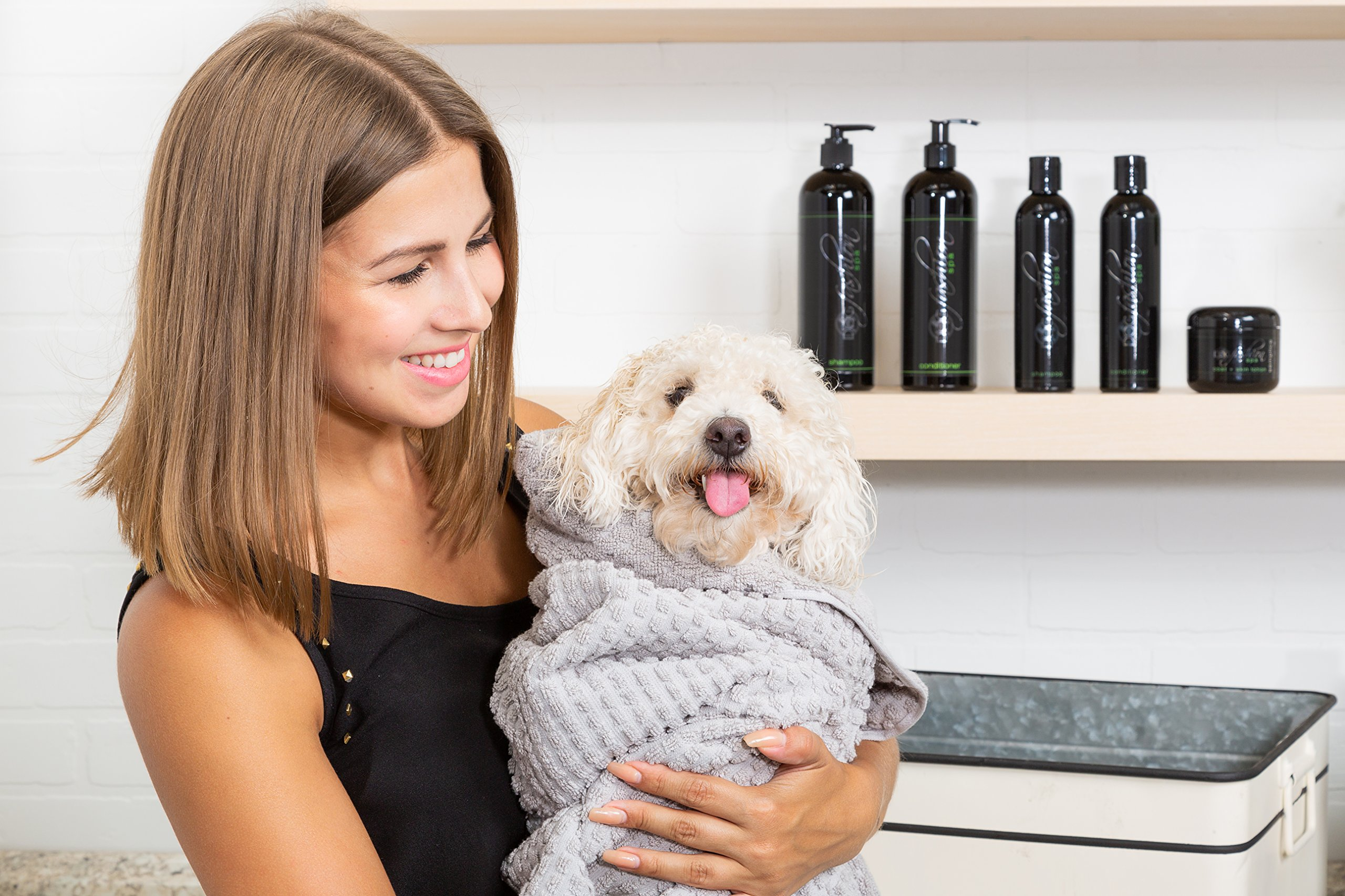 Dog Fashion Spa Dog Shampoo by Moisturize and Nourish Your Pet's Skin with Aloe and Chamomile - Great Toxin-Free Pet Shampoo for Puppies, Senior Dogs, Small and Large Dogs - Made in USA - 1 Gallon