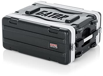 Gator Cases Lightweight Molded 4U Rack Case with Heavy Duty Latches