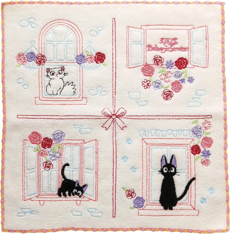 Marushin Cotton Hand Towel 25x25cm 100 Cotton Embroided Studio Ghibli Kiki S Delivery Service Jiji In Love Amazon Co Uk Kitchen Home